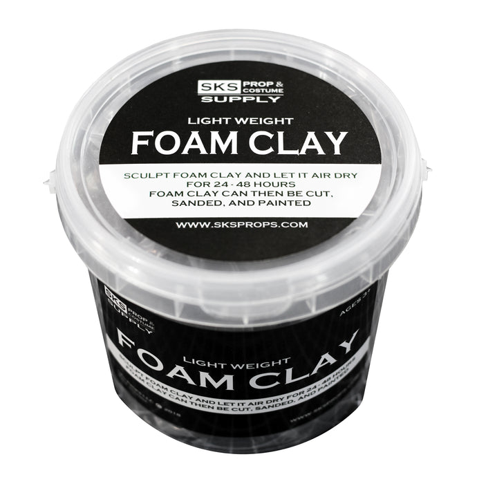 Light Weight Foam Clay for Cosplay 300g Tub
