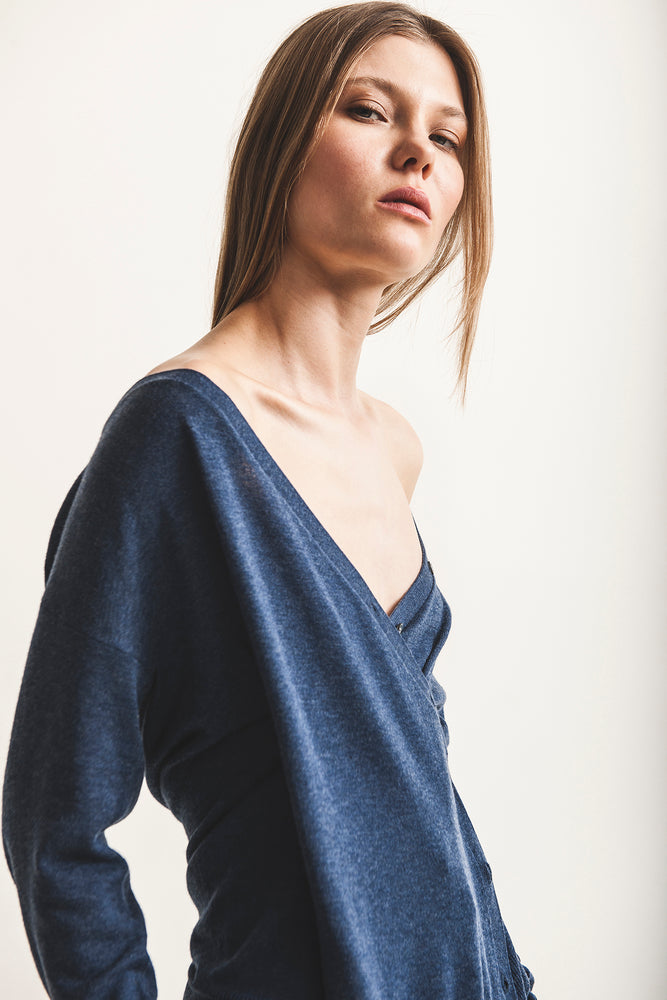 Blanche Wrap Sweater