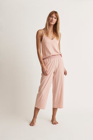 Suri Double Strap Cami with Crop Pant
