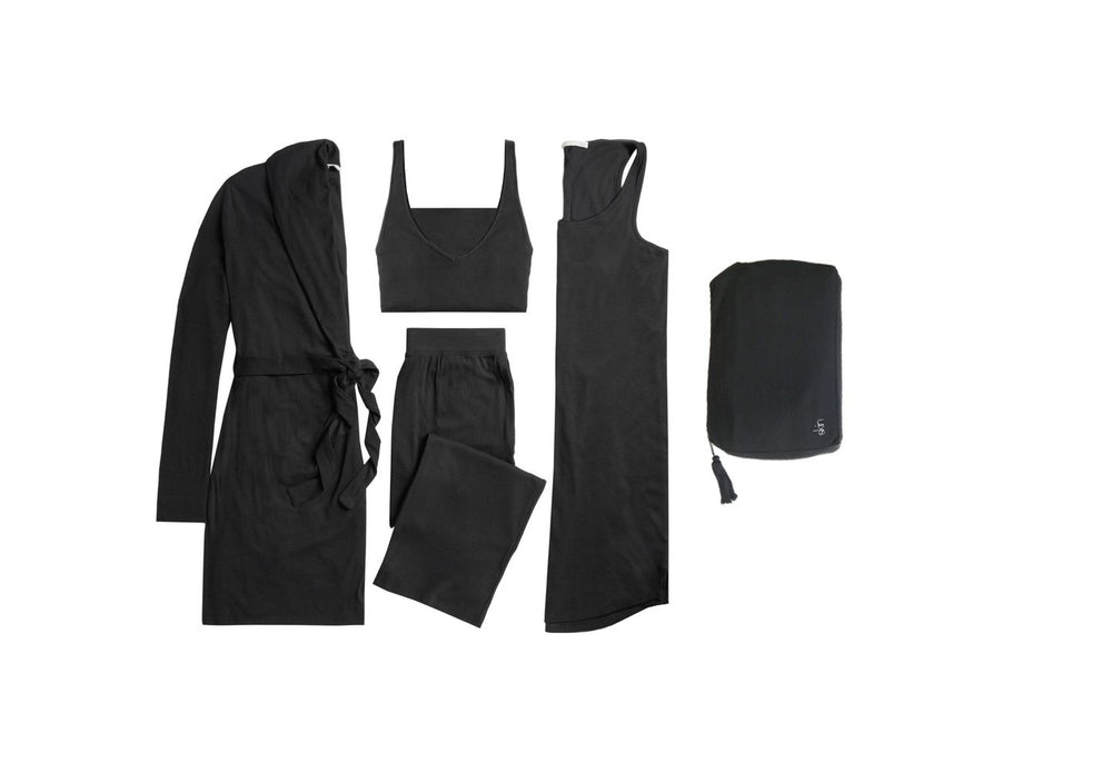 4 Piece Travel Set w/ Zip Bag