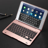 attached Bluetooth keyboard