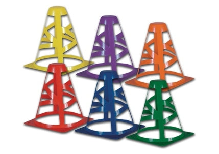 Collaspible Colored Practice Cones