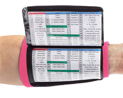 Playbook Wristband - Youth - Pink