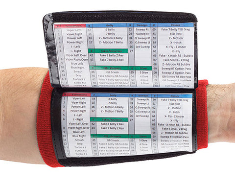 Playbook Wristband - Youth - Red