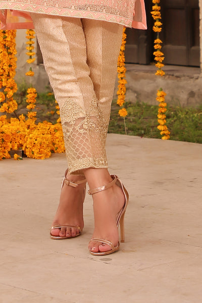 Golden Trouser Emb