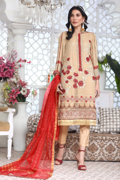 Sawan - Unstitched 3Pc