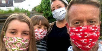 How to Make Your Own Funky Coronavirus Face Mask | Wigwam Toys Brighton