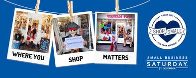 Where you shop matters, shop local independent retailers | Wigwam Toys Brighton