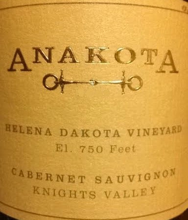 Anakota Helena Dakota 2016, 750ml