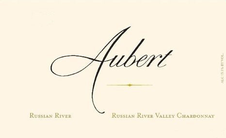 Aubert Wines Russian River Valley Chardonnay 2019, 750ml