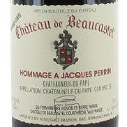 Beaucastel Chateauneuf-du-Pape Grand Cuvee Hommage a Jacques Perrin 1990, 1.5L