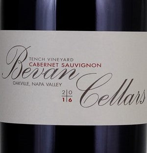 "Bevan Cellars, Tench Vineyard ""EE"" Red 2014, 750ml"