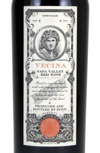 Bond Vecina 2012, 750ml [slightly torn label]