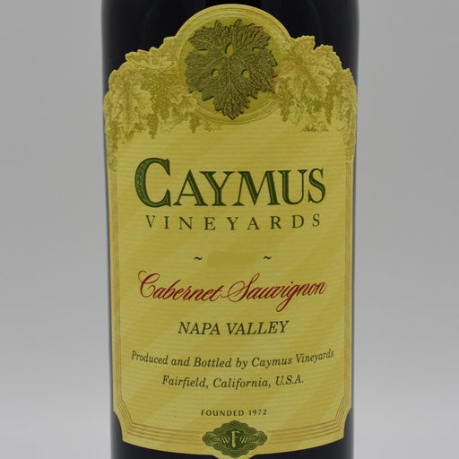 Caymus Vineyards, Cabernet Sauvignon 2018, 1L