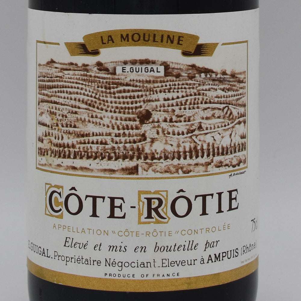 E. Guigal, La Mouline Cote-Rotie 1985, 750ml