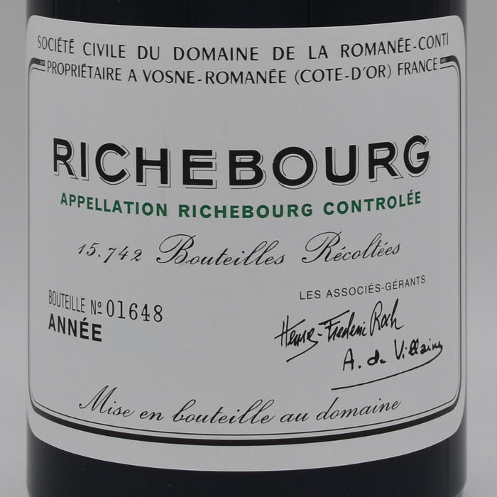 DRC Richebourg 2017, 750ml