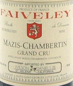 Faiveley Mazis-Chambertin 2003, 750ml