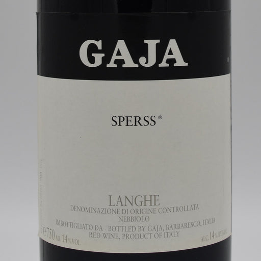 Gaja, Sperss 1997, 750ml
