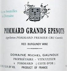 Michel Gaunoux Pommard Grands Epenots 2001, 750ml