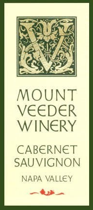 Mount Veeder Winery Cabernet Sauvignon 2016, 750ml