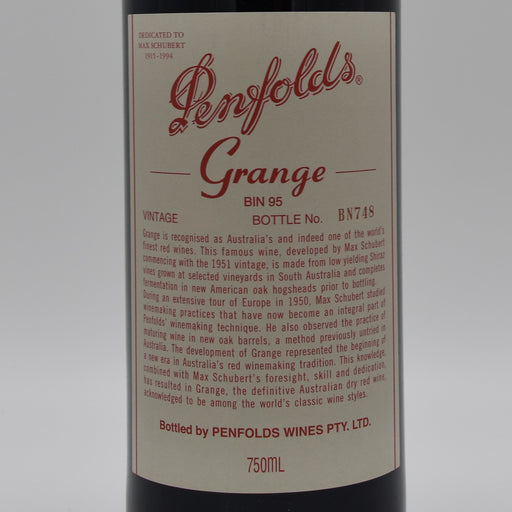 Penfolds Grange 2012, 750ml