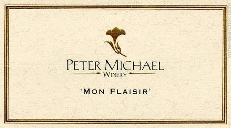 Peter Michael 'Mon Plasir' Chardonnay 2018, 750ml