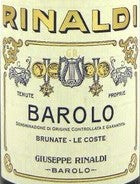 Giuseppe Rinaldi 'Brunate-Le Coste', Barolo 1998, 750ml