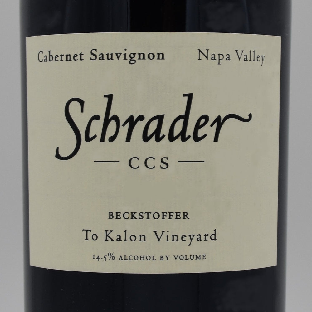 Schrader CCS Beckstoffer To-Kalon Vineyard 2014, 750ml