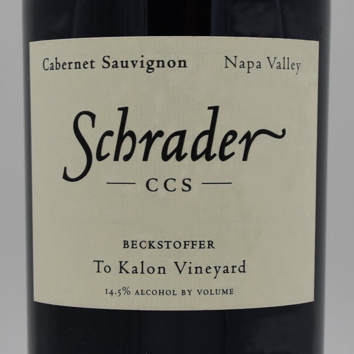 Schrader CCS Beckstoffer To-Kalon Vineyard 2012, 750ml