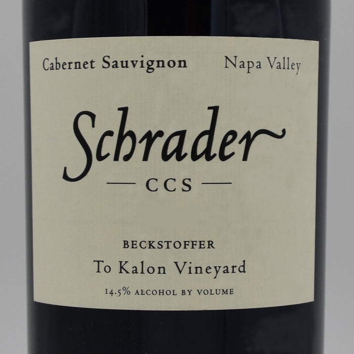 Schrader CCS Beckstoffer To-Kalon Vineyard 2015, 750ml