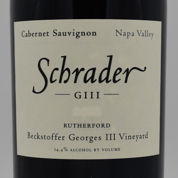 Schrader GIII Beckstoffer Georges III Vineyard 2014, 750ml
