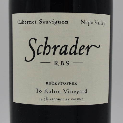 Schrader RBS Beckstoffer To-Kalon Vineyard 2014, 750ml