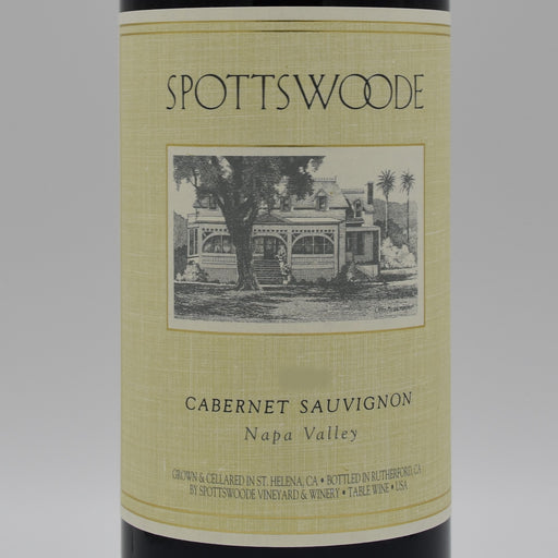 Spottswoode Family Estate Cabernet 2014, 1.5L