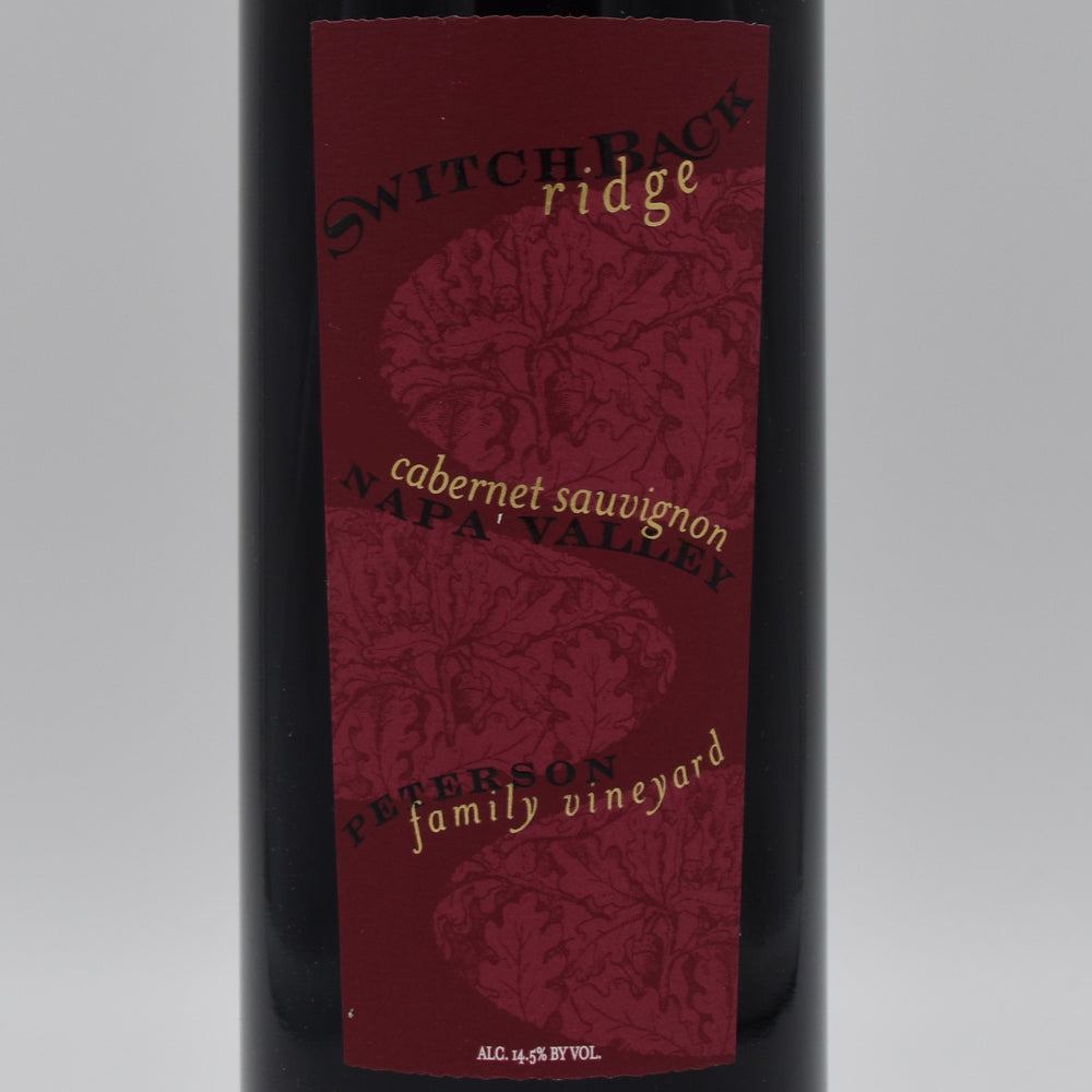 Switchback Ridge, Peterson Family Vineyard Cabernet Sauvignon 2013, 1.5L