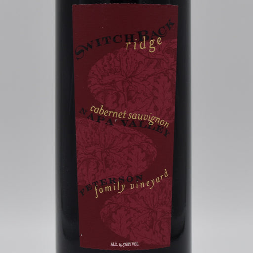 Switchback Ridge, Peterson Family Vineyard 2013, 1.5L