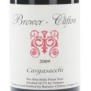 Brewer-Clifton Pinot Noir 'Cargasacchi 2009, 750ml