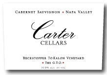 Carter Cellars Beckstoffer To Kalon Vineyard The G.T.O 2016, 1.5L