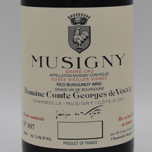 Comte Georges de Vogue, Musigny 2015, 750ml
