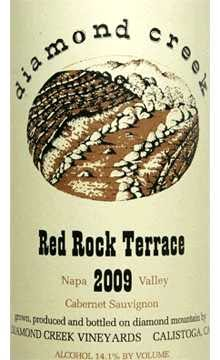 Diamond Creek Red Rock Terrace 2009, 750ml