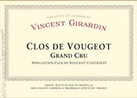 Vincent Girardin Clos De Vougeot Grand Cru 2005, 750ml