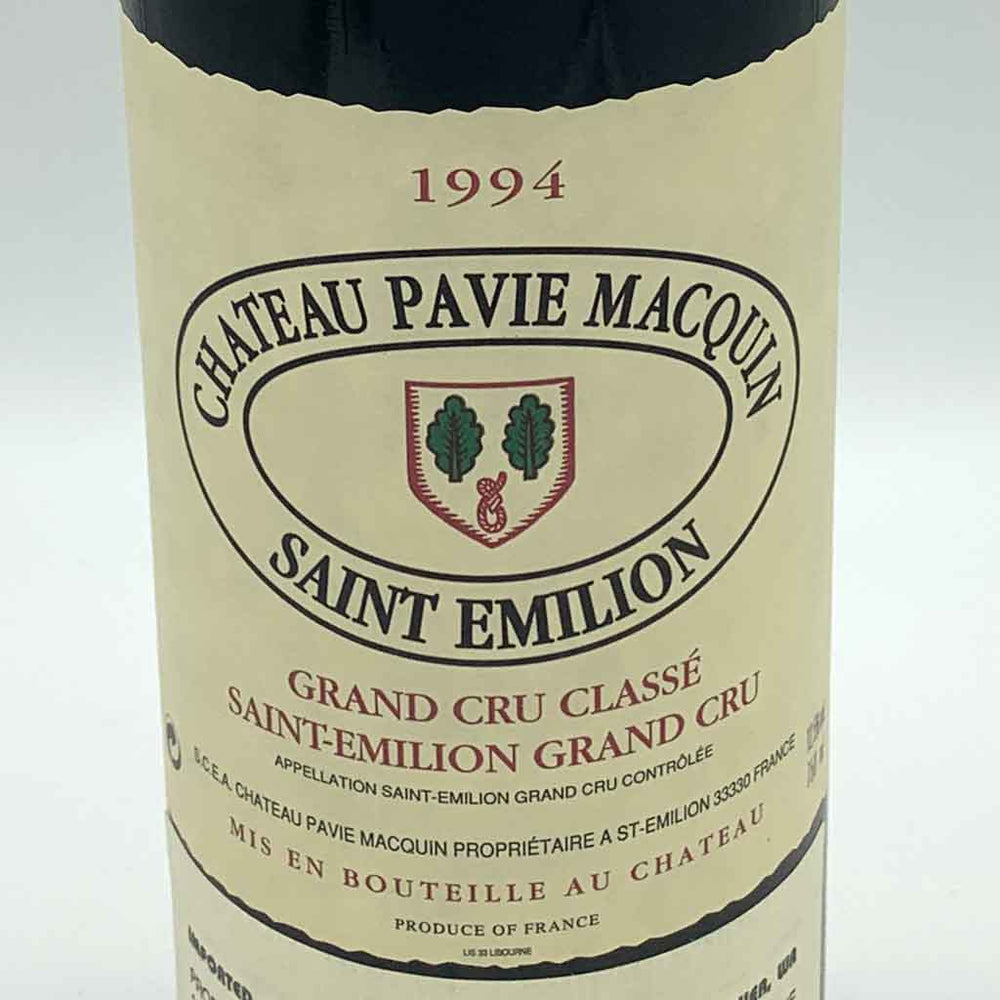 Pavie Macquin 1994, 750ml [6 pack]