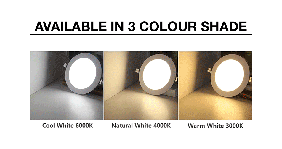 Ceiling light White color shades
