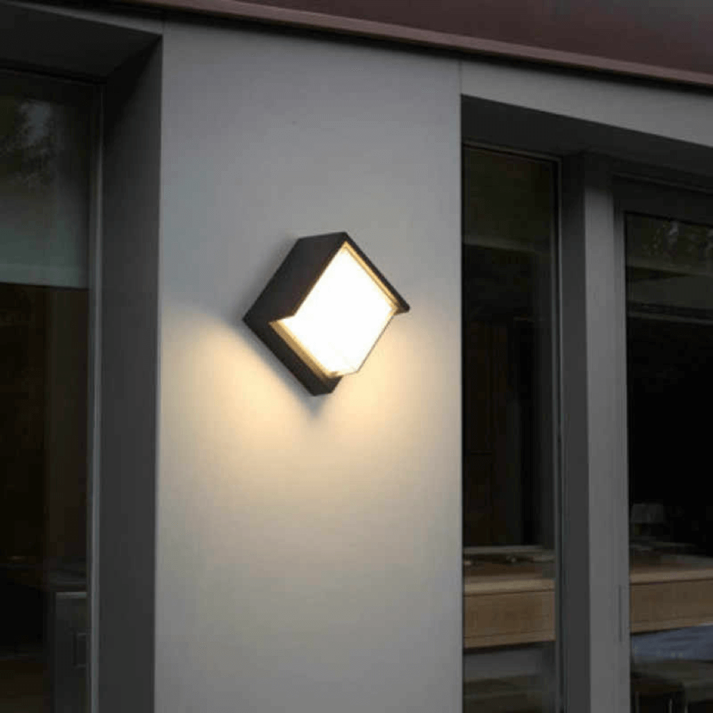 cecidimus square led facade wall light footer 2
