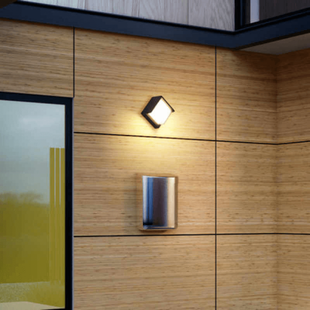 cecidimus square led facade wall light footer 4