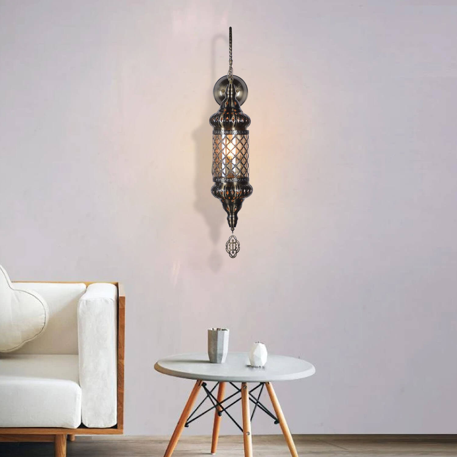 moroccan wall light lifestyle 3