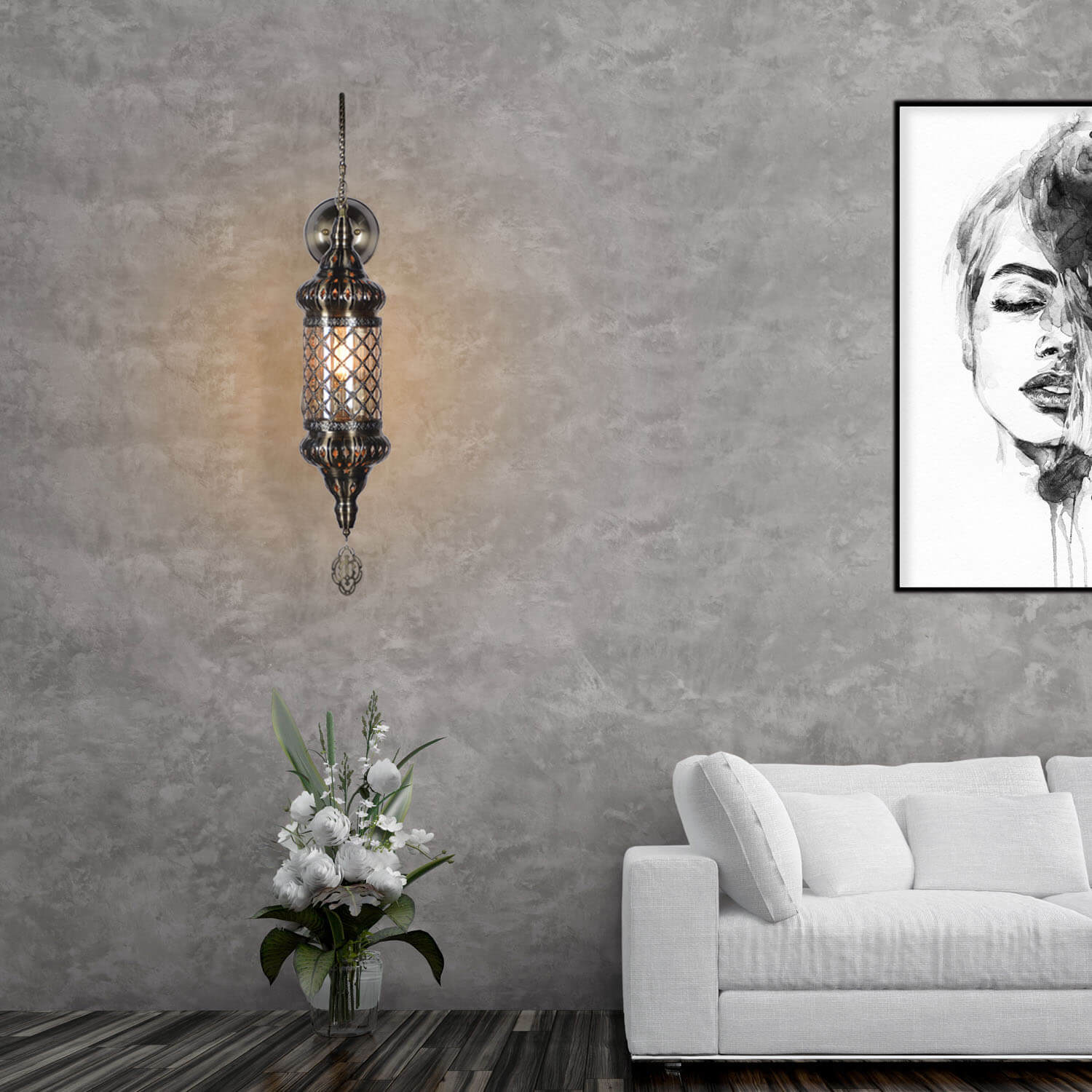 moroccan wall light lifestyle 2
