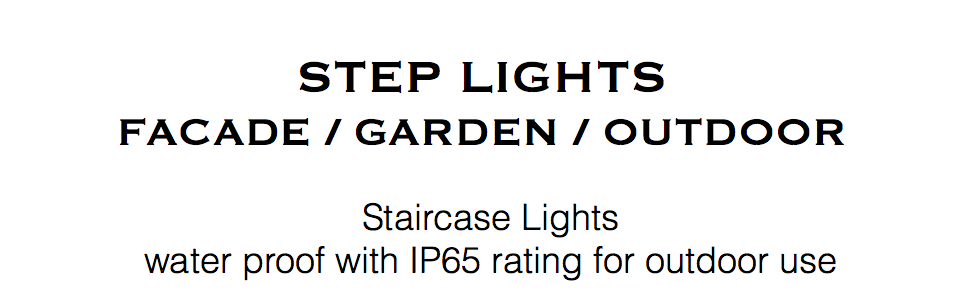 step light staircase light