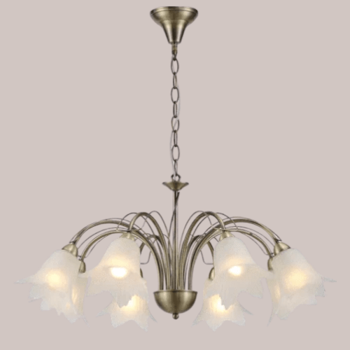 Conflator Glass Chandelier
