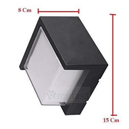 cecidimus square led facade wall light 6