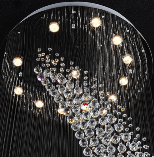 luceat long chandelier 5